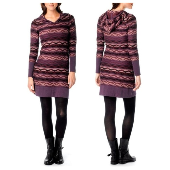 Prana Dresses & Skirts - Prana XL Meryl Sweater Dress | Hooded